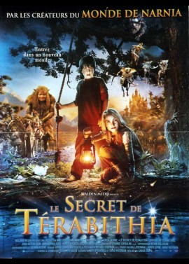 BRIDGE TO TERABITHIA (LE) movie poster