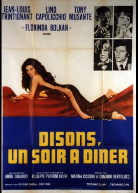 affiche du film DISONS UN SOIR A DINER