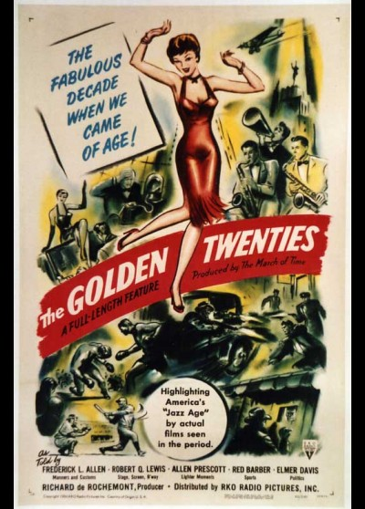 affiche du film GOLDEN TWENTIES (THE)