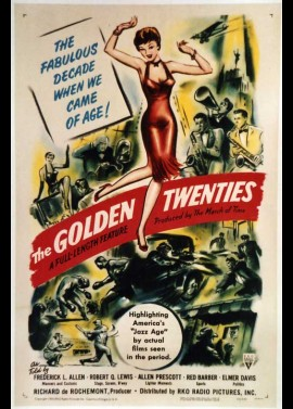 affiche du film GOLDEN TWENTIES (THE)