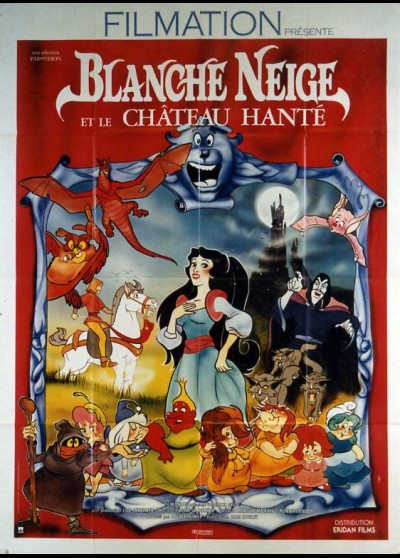 affiche du film BLANCHE NEIGE ET LE CHATEAU HANTE
