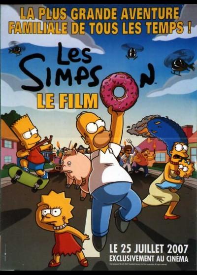 SIMPSON MOVIE (THE) movie poster