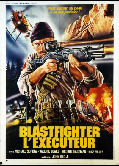 affiche du film BLASTFIGHTER L'EXECUTEUR