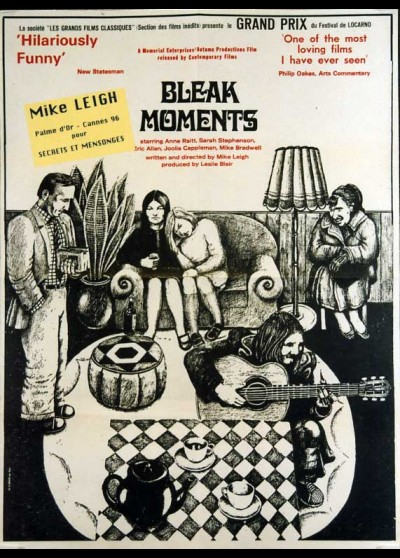 BLEAK MOMENTS movie poster