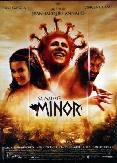 affiche du film SA MAJESTE MINOR