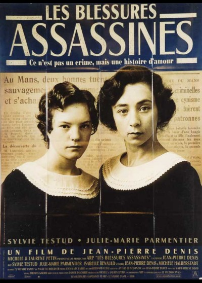 affiche du film BLESSURES ASSASSINES (LES)