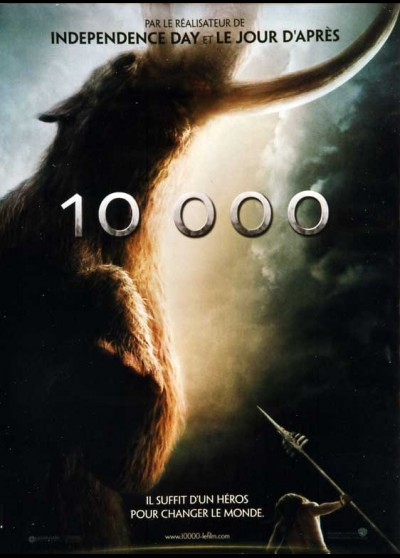 10,000 BC / TEN THOUSANDS BC movie poster