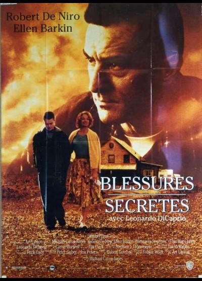 affiche du film BLESSURES SECRETES