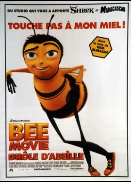 affiche du film BEE MOVIE DROLE D'ABEILLE