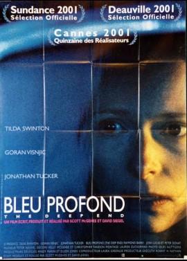 affiche du film BLEU PROFOND