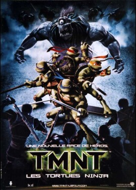 TMNT (TEENAGE MUTANT NINJA TURTLES) movie poster