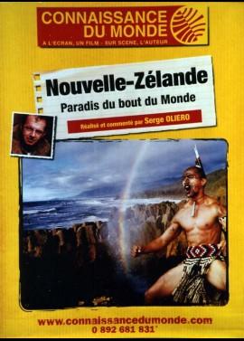 affiche du film CONNAISSANCE DU MONDE NOUVELLE ZELANDE