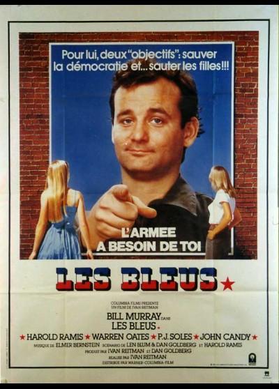 affiche du film BLEUS (LES)