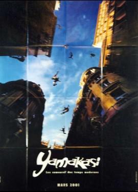 affiche du film YAMAKASI LES SAMOURAIS DES TEMPS MODERNES