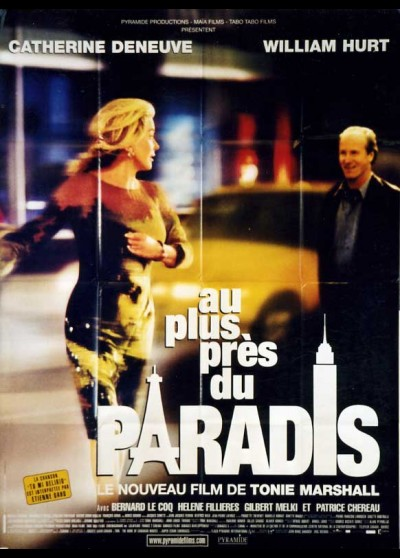 AU PLUS PRES DU PARADIS movie poster