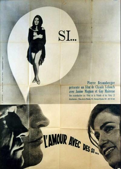 AMOUR AVEC DES SI (L') movie poster
