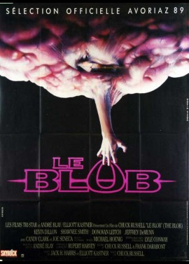 BLOB (THE) movie poster