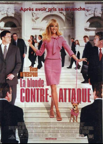 affiche du film BLONDE CONTRE ATTAQUE (LA)
