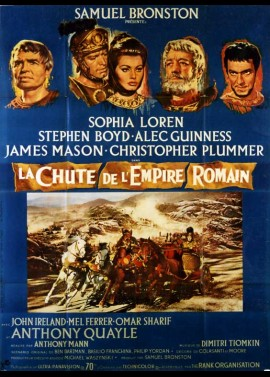 affiche du film CHUTE DE L'EMPIRE ROMAIN (LA)