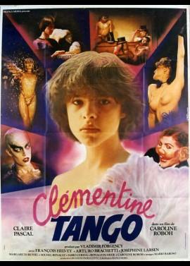CLEMENTINE TANGO movie poster