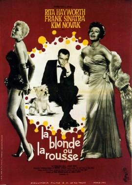 affiche du film BLONDE OU LA ROUSSE (LA)