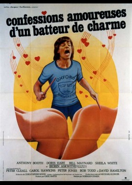 affiche du film CONFESSIONS AMOUREUSES D'UN BATTEUR DE CHARME