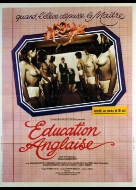 EDUCATION ANGLAISE movie poster