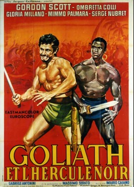 GOLIATH E LA SCHIAVA RIBELLE movie poster