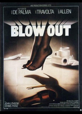BLOW OUT movie poster