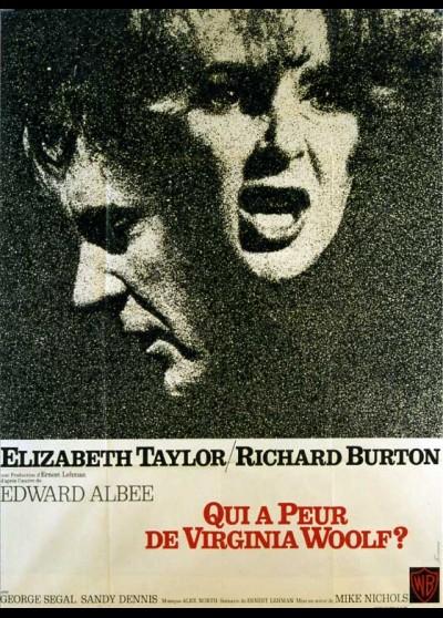 affiche du film QUI A PEUR DE VIRGINIA WOOLF