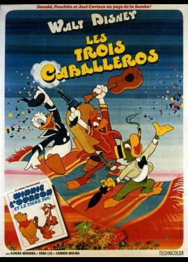 THREE CABALLEROS (THE) movie poster