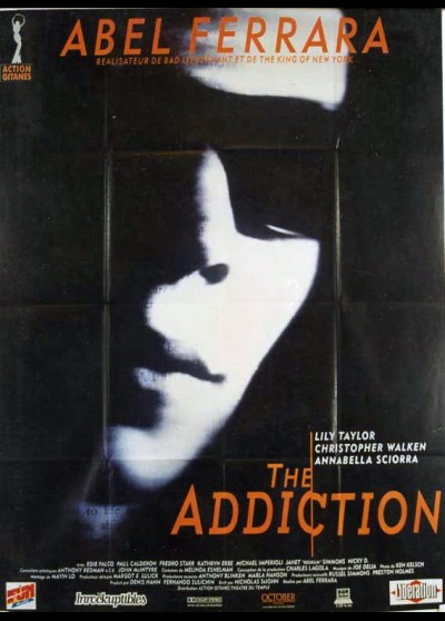 affiche du film ADDICTION (THE)