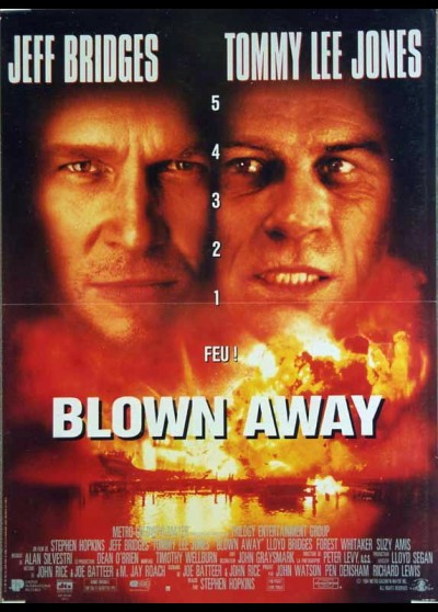 BLOWN AWAY movie poster