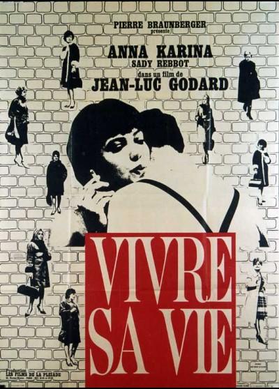 affiche du film VIVRE SA VIE