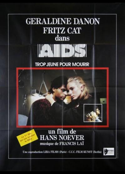 affiche du film AIDS TROP JEUNE POUR MOURIR