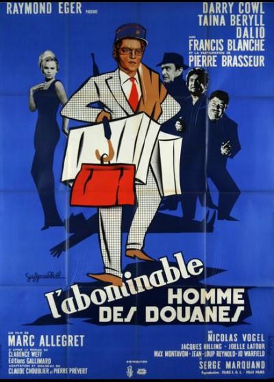 affiche du film ABOMINABLE HOMME DES DOUANES (L')
