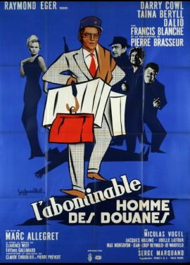 ABOMINABLE HOMME DES DOUANES (L') movie poster