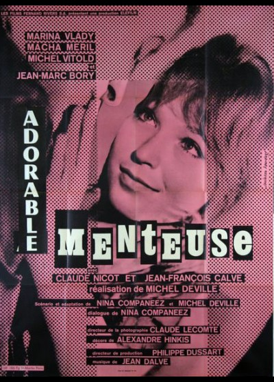affiche du film ADORABLE MENTEUSE