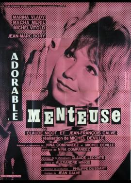 ADORABLE MENTEUSE movie poster