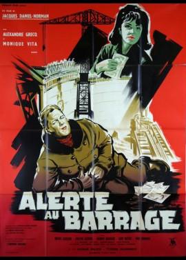 affiche du film ALERTE AU BARRAGE