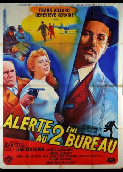 affiche du film ALERTE AU DEUXIEME BUREAU