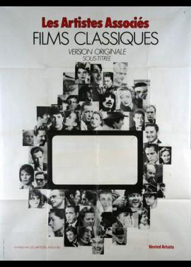 affiche du film ARTISTES ASSOCIES FILMS CLASSIQUES