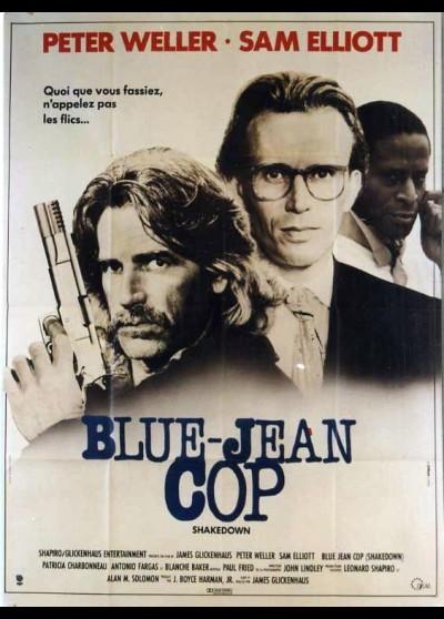 affiche du film BLUE JEAN COP