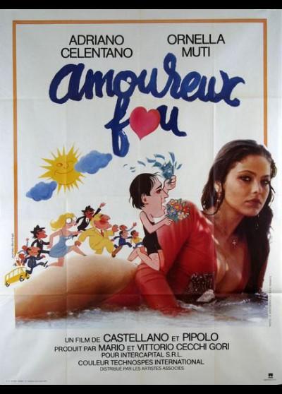 affiche du film AMOUREUX FOU