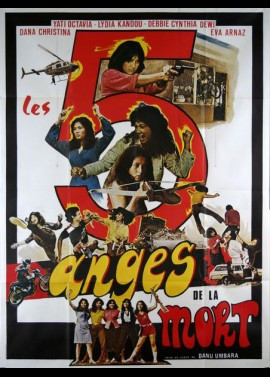 FIVE DEADLY ANGELS movie poster