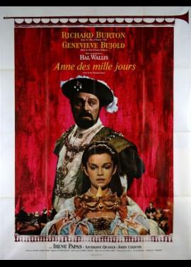 affiche du film ANNE DES MILLE JOURS