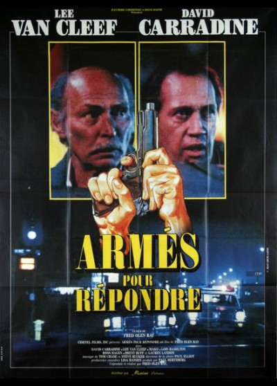 affiche du film ARMES POUR REPONDRE