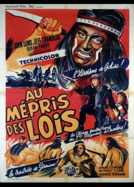 BATTLE OF APACHE PASS (THE) movie poster