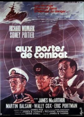 affiche du film AUX POSTES DE COMBAT