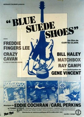 BLUE SUEDE SHOES movie poster